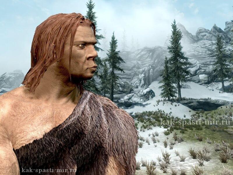 Картинка неандерталец 30 000 лет назад