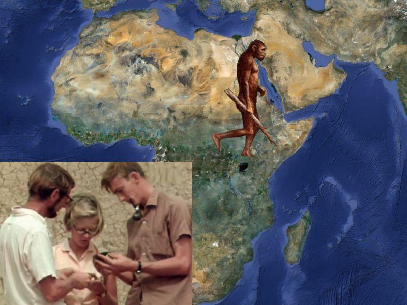 Фото расселение человека началось Африке