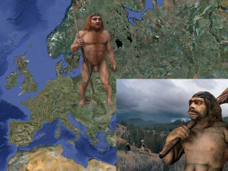 Фото неандертальцы