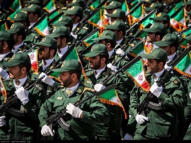 Фото корпус стражей исламской революции