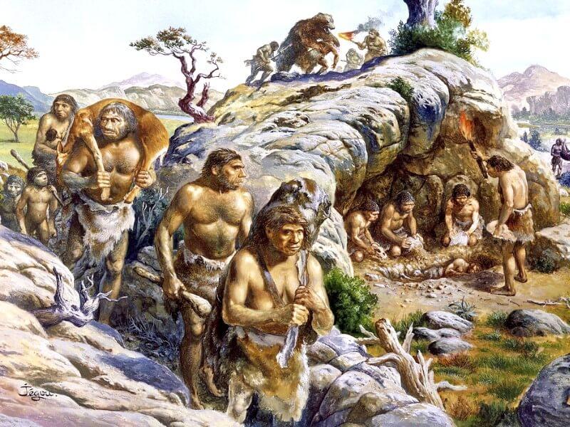 Картинка расселение человека по Земле