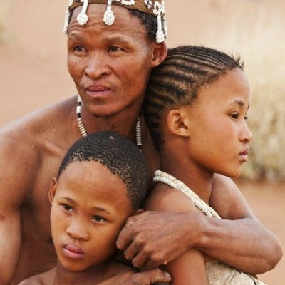 Фото бушмены самый древний народ