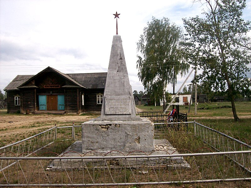 фото клуб посёлка Рустай и обелиск