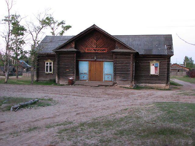 Клуб посёлка Рустай фото