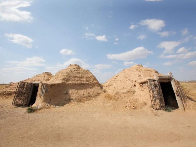Древнее поселение Аркаим фото