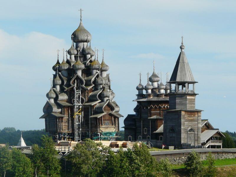Архитектурный ансамбль Кижского погоста фото