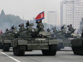 Фотография - сухопутные силы армии Северной Кореи