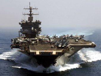 Авианосец ВМФ США фото
