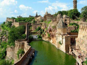 фото форт Chittorgarh