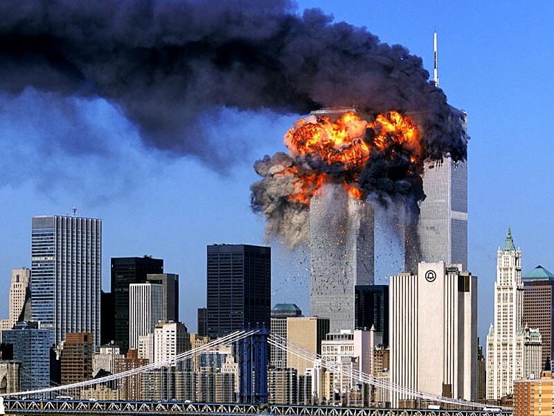 Фото атака на Нью-Йорк