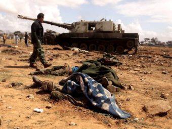 Фото война в Ливии