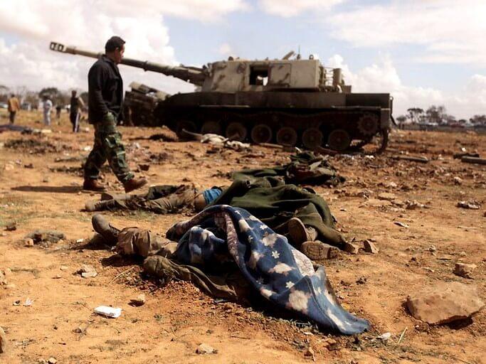 Интервенция и гражданская война в Ливии