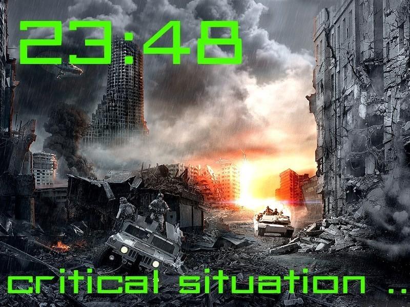 Часы Судного дня показывают время