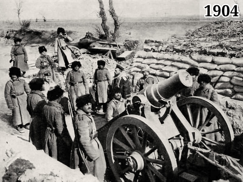 Фото русско-японская война, Порт-Артур 1904 год