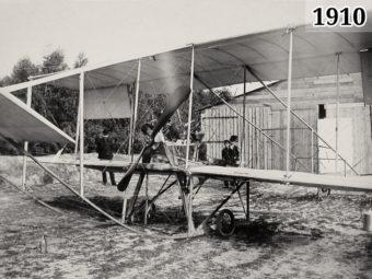 Фото первый в России самолёт отечественной постройки Кудашев-1, 1910 год