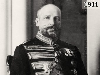 Фото П.А. Столыпин в Зимнем Дворце - 1908 год