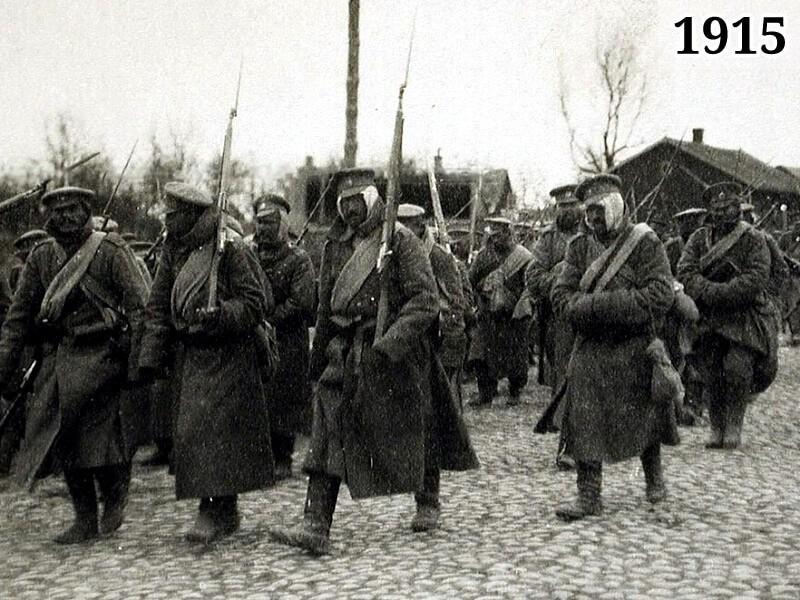 Фото отступление Русской армии из Галиции