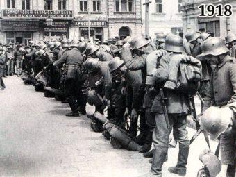 Фото германские войска в Киеве март 1918