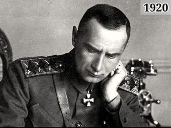 Фото Верховный правитель России в 1918-1920 адмирал Колчак