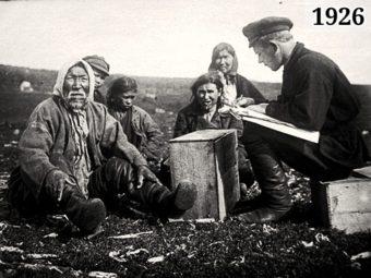 Фото перепись населения 1926 года в СССР