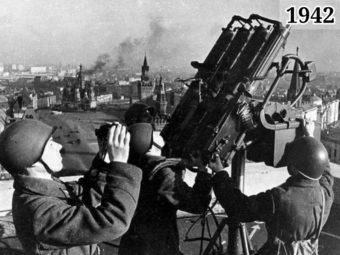 Фото советские зенитчики на защите Москвы 1941-1942