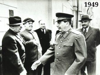 Фото Берия, Маленков, Пономаренко, Сталин, Каганович