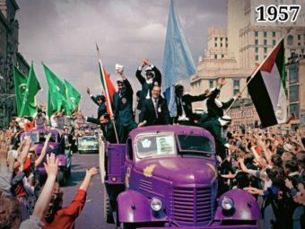 Фото VI Всемирный фестиваль молодёжи и студентов. Москва, 1957 год