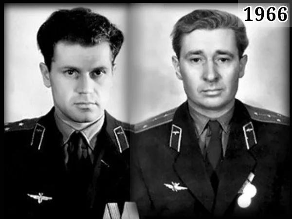 Фото советские летчики Юрий Янов и Борис Капустин