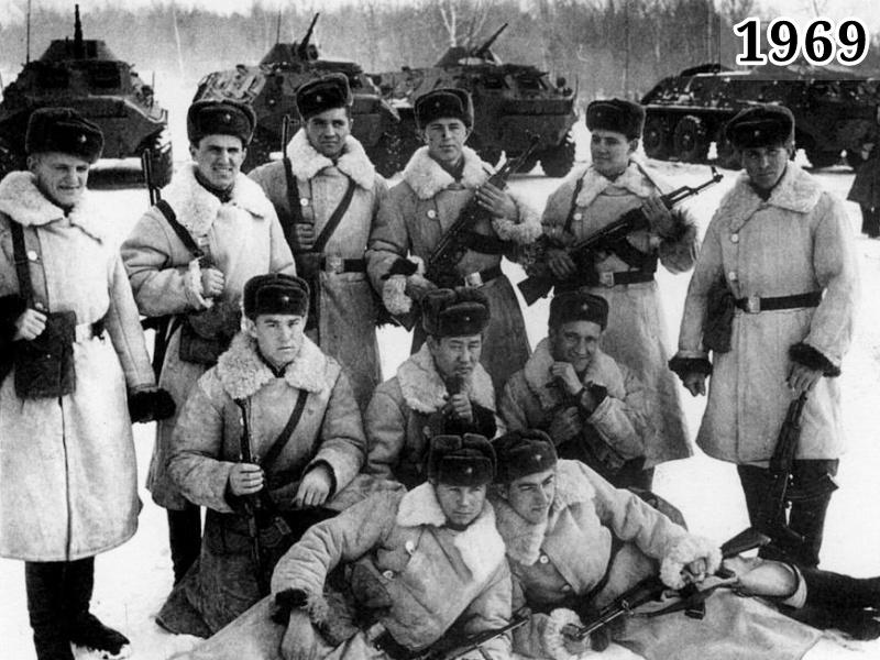 Фото советские пограничники участвовавшие в конфликте на Даманском 1969 год