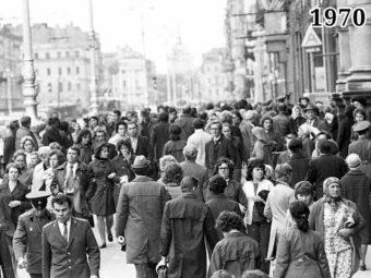 Фото город Ленинград 1970 год