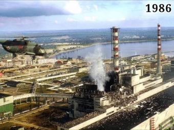 Фото разрушенный энергоблок Чернобыльской атомной электростанции 1986 год