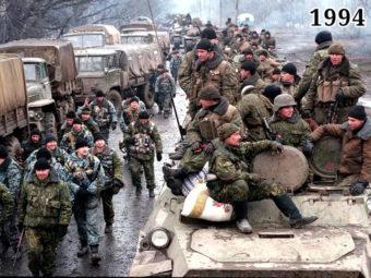 Фото ввод федеральных войск в Чеченскую Республику