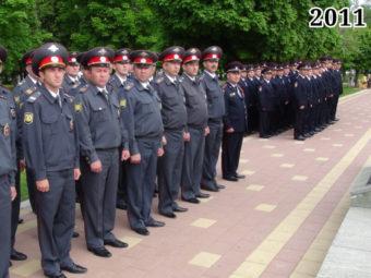 Фото сотрудники МВД в милицейской форме одежды