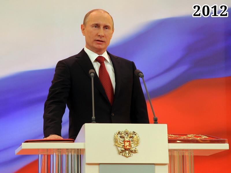 Фото инаугурация Владимира Путина, 7 мая 2012 года