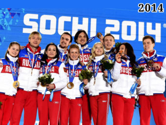 Фото российские спортсмены на Зимних Олимпийских играх в Сочи 2014