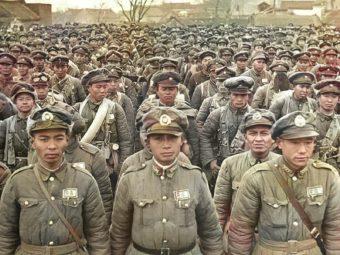 Фото солдаты армии Гоминьдана